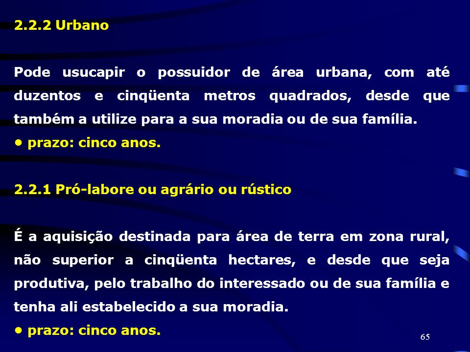2.2.2 Urbano