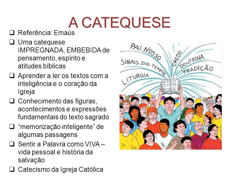 A CATEQUESE Referência: Emaús