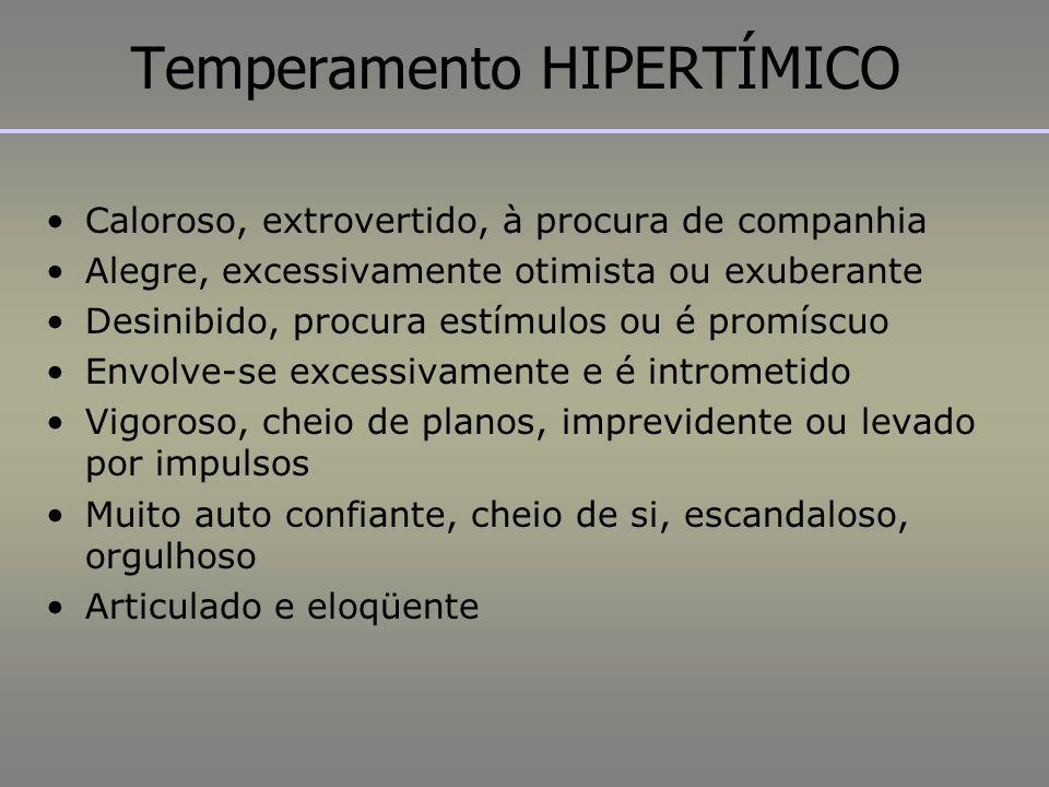 Temperamento HIPERTÍMICO