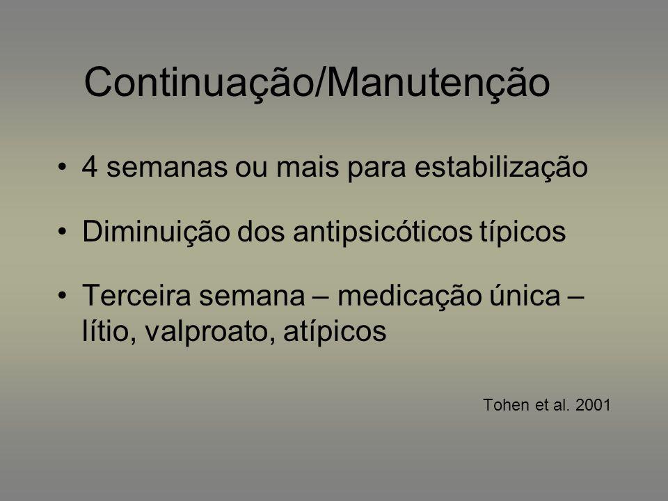 Continuação/Manutenção