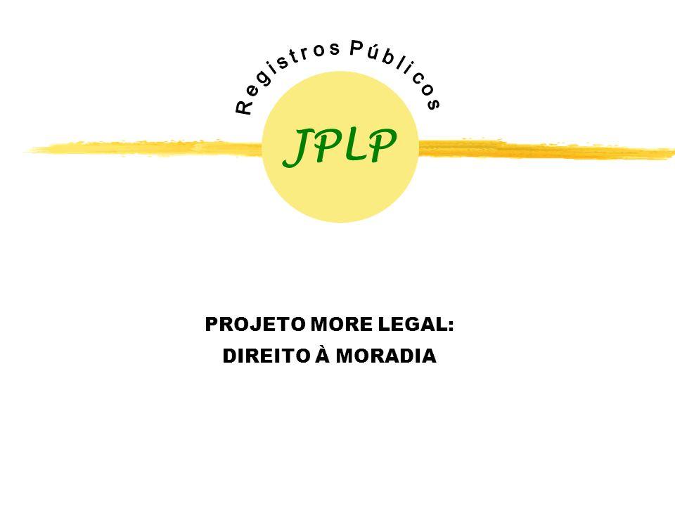 PROJETO MORE LEGAL: DIREITO À MORADIA