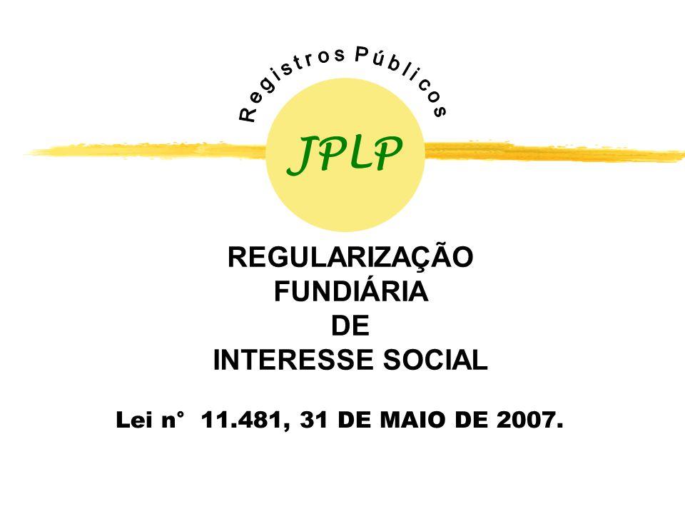 REGULARIZAÇÃO FUNDIÁRIA DE INTERESSE SOCIAL