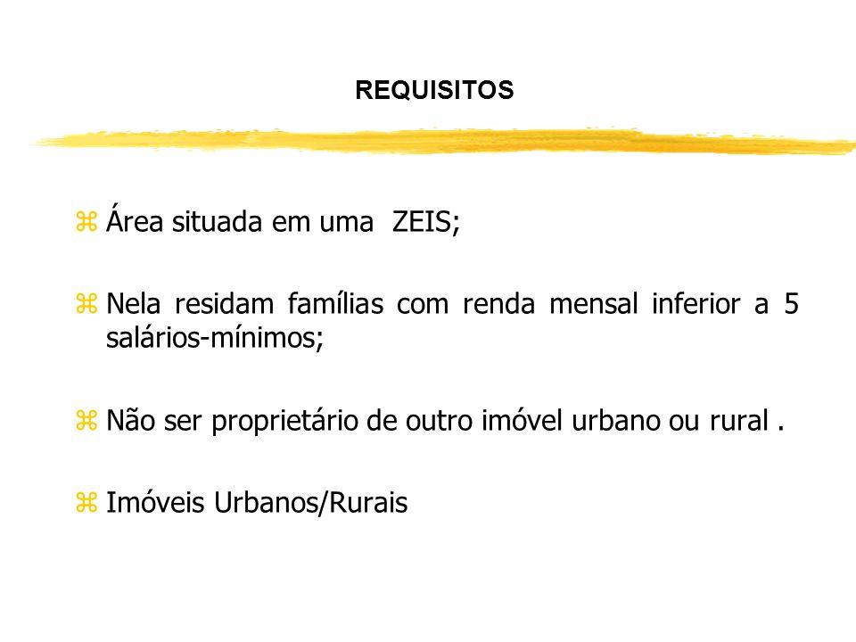 Área situada em uma ZEIS;