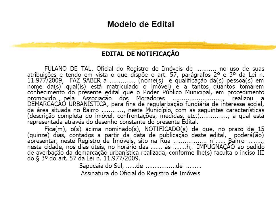 Assinatura do Oficial do Registro de Imóveis