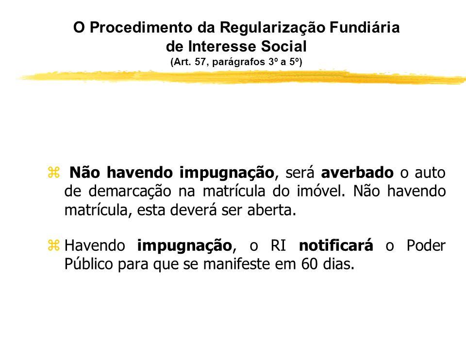 O Procedimento da Regularização Fundiária de Interesse Social (Art