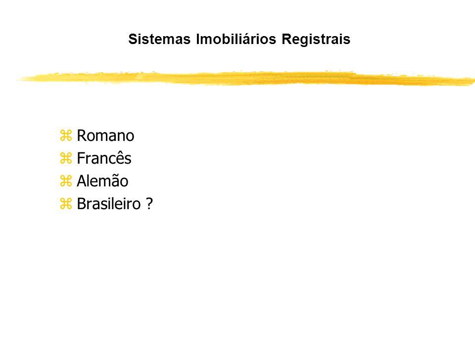 Sistemas Imobiliários Registrais