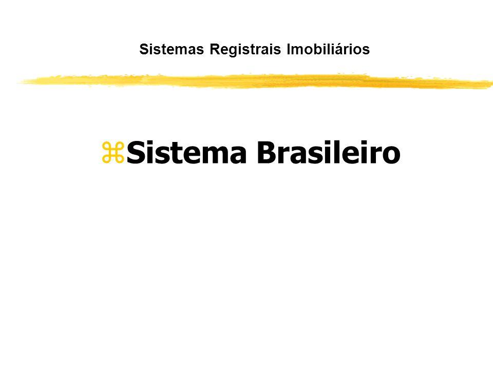 Sistemas Registrais Imobiliários