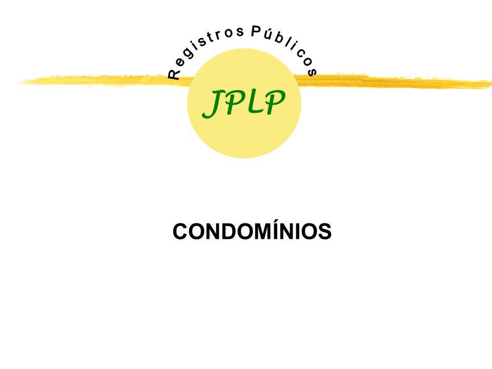 JPLP R e g i s t r o s P ú b l i c o s CONDOMÍNIOS
