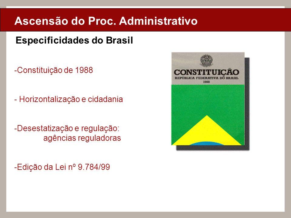 Ascensão do Proc. Administrativo