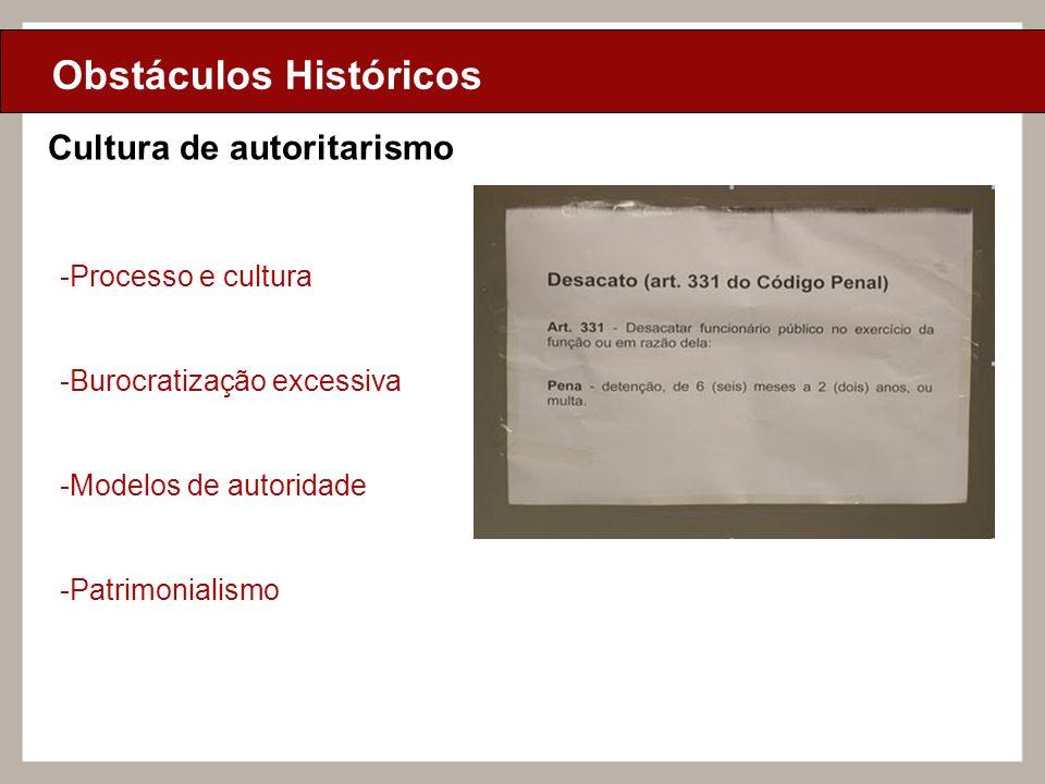 Obstáculos Históricos