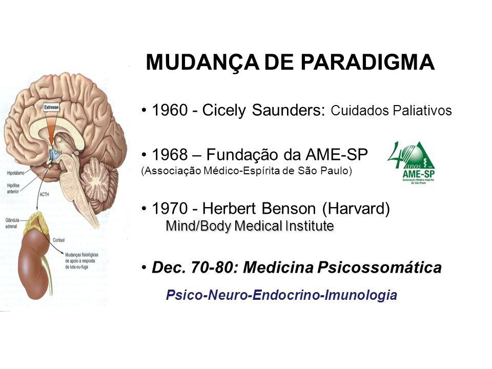 MUDANÇA DE PARADIGMA 1960 - Cicely Saunders: Cuidados Paliativos