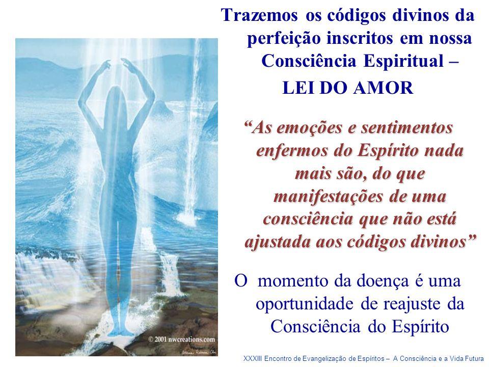 Trazemos os códigos divinos da perfeição inscritos em nossa Consciência Espiritual –