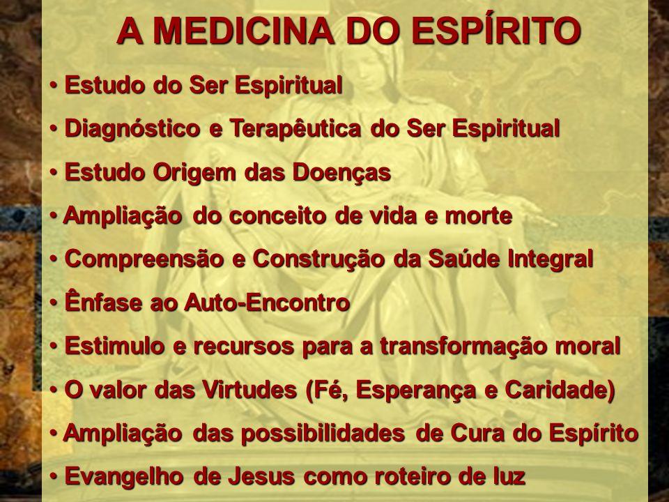 Estudo do Ser Espiritual Diagnóstico e Terapêutica do Ser Espiritual