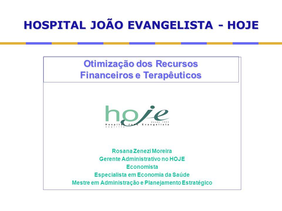 HOSPITAL JOÃO EVANGELISTA - HOJE