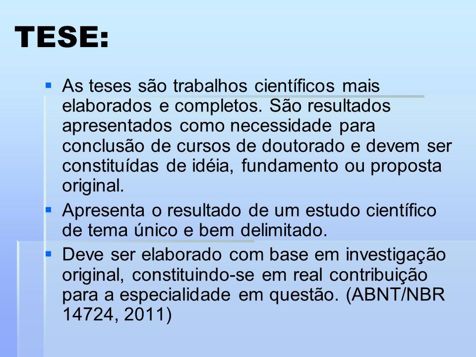TESE: