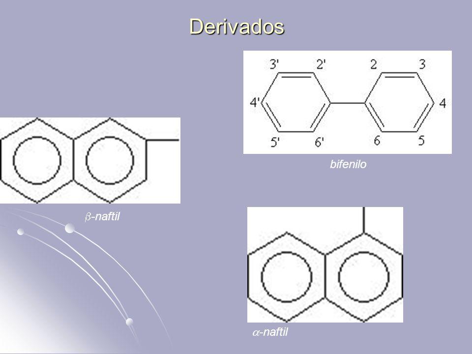 Derivados bifenilo -naftil -naftil
