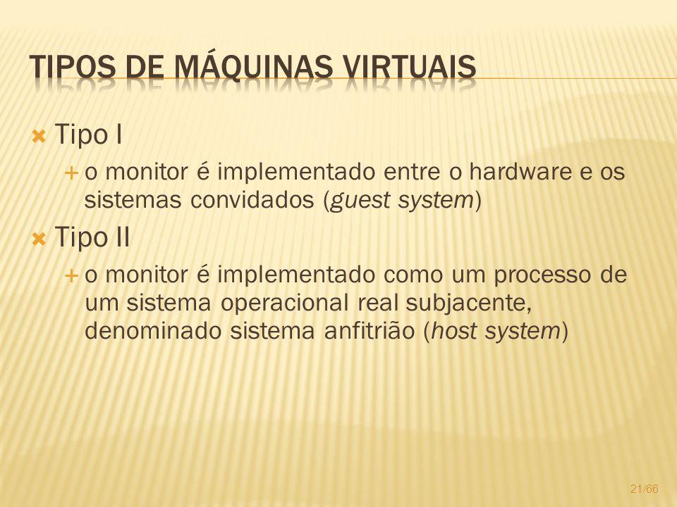 Tipos de Máquinas Virtuais