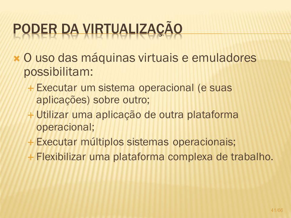 Poder da Virtualização