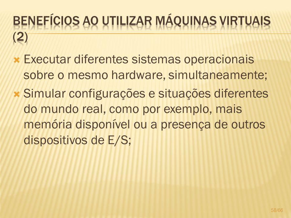 Benefícios ao utilizar máquinas virtuais (2)