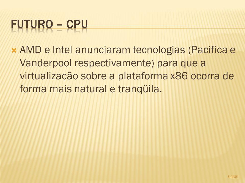 Futuro – CPU