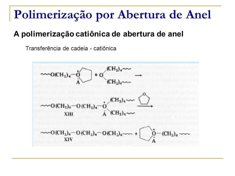 Polimerização por Abertura de Anel