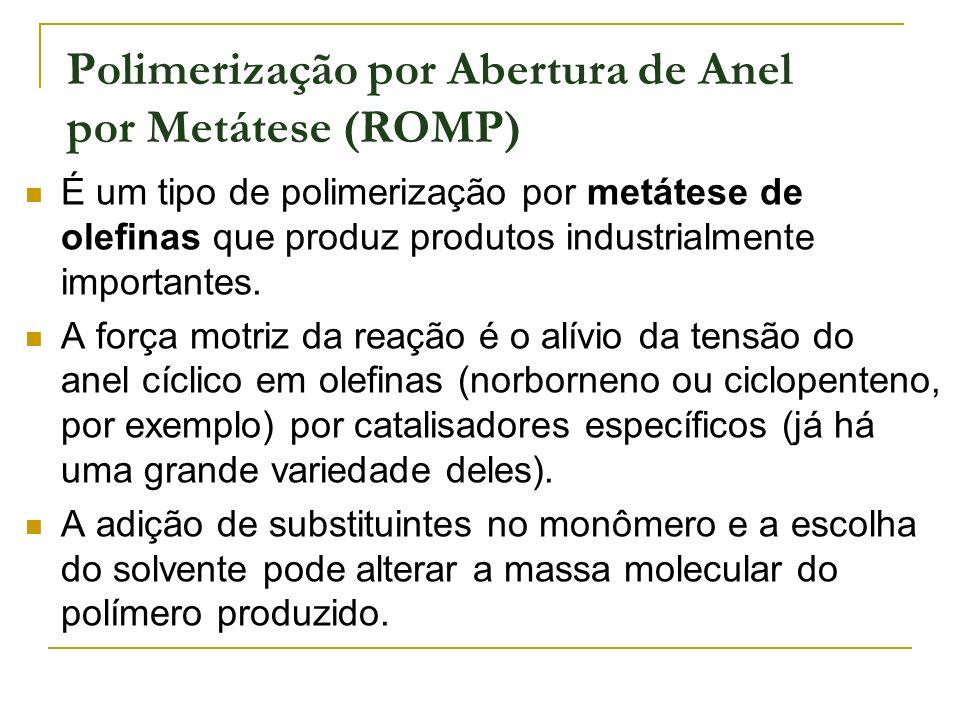 Polimerização por Abertura de Anel por Metátese (ROMP)