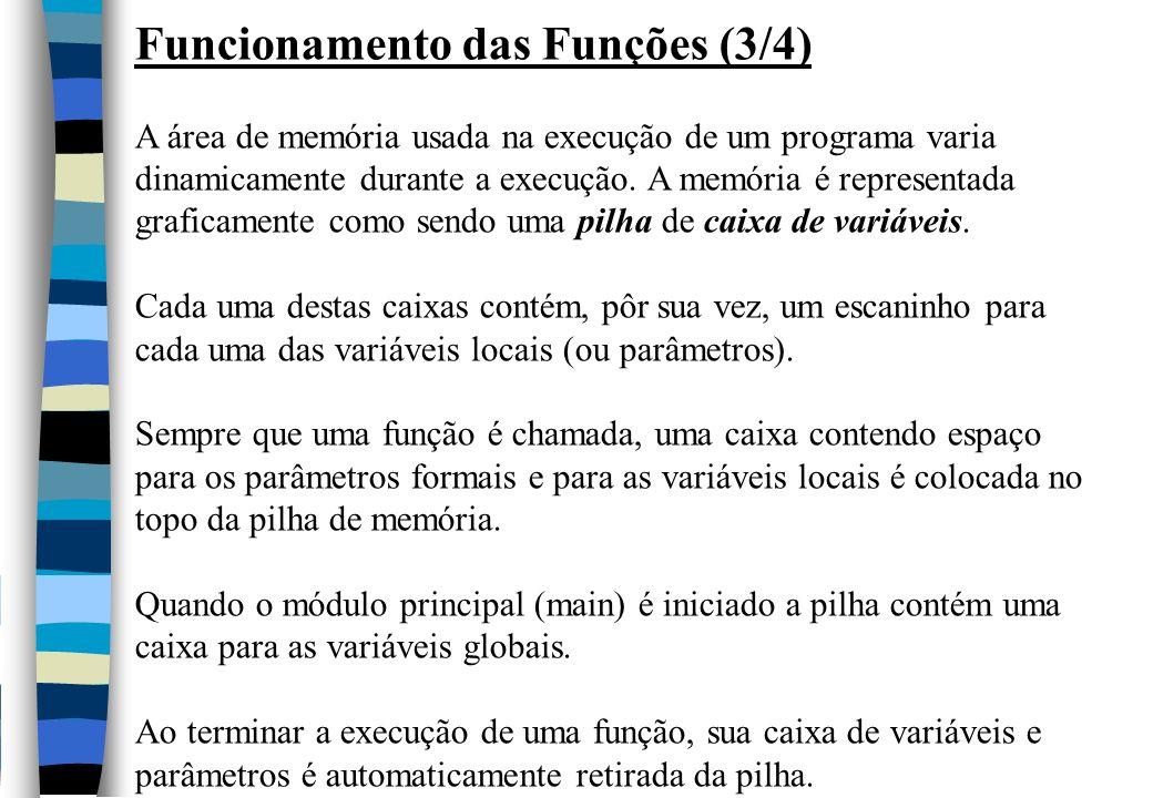 Funcionamento das Funções (3/4)