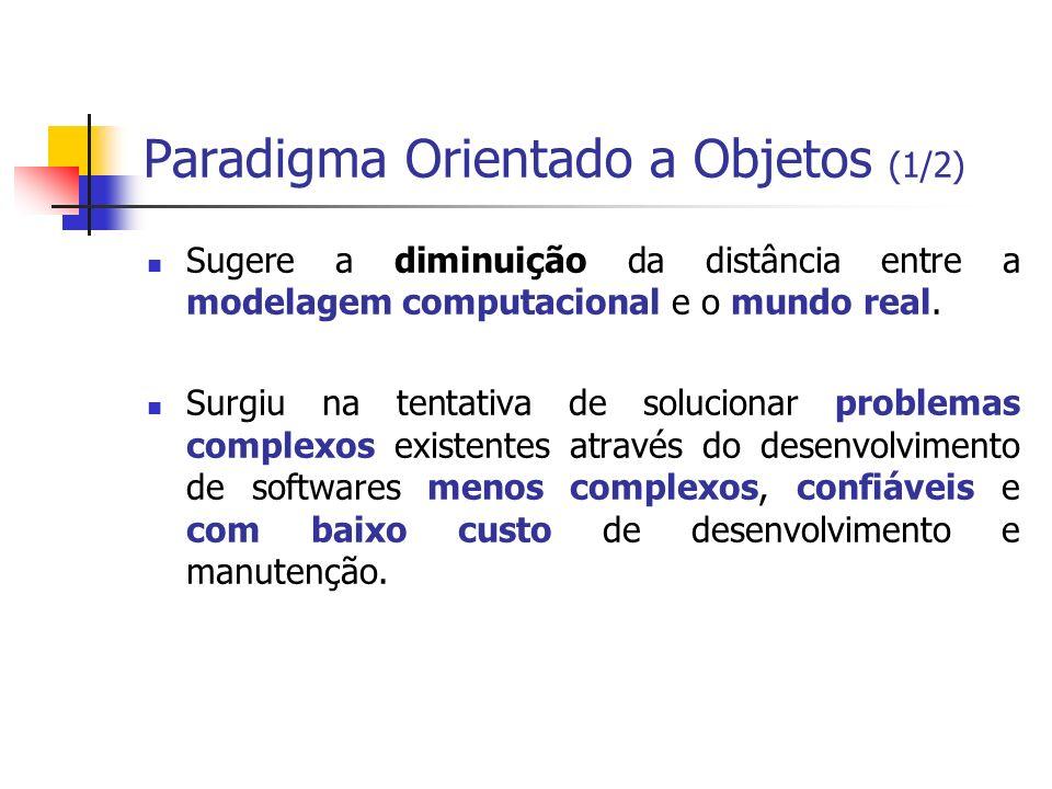 Paradigma Orientado a Objetos (1/2)