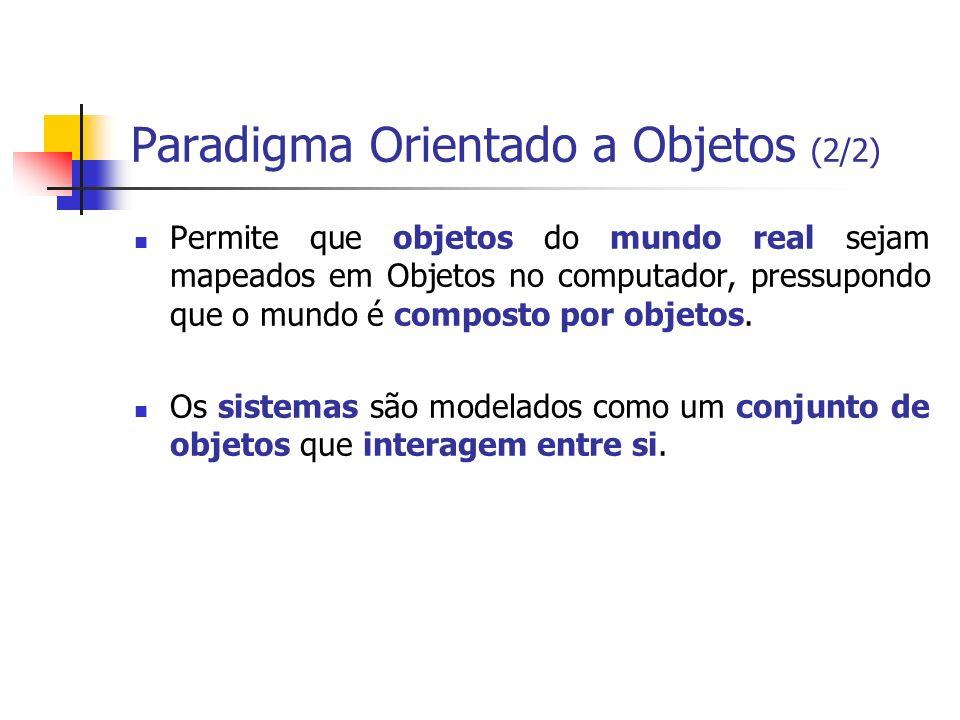 Paradigma Orientado a Objetos (2/2)