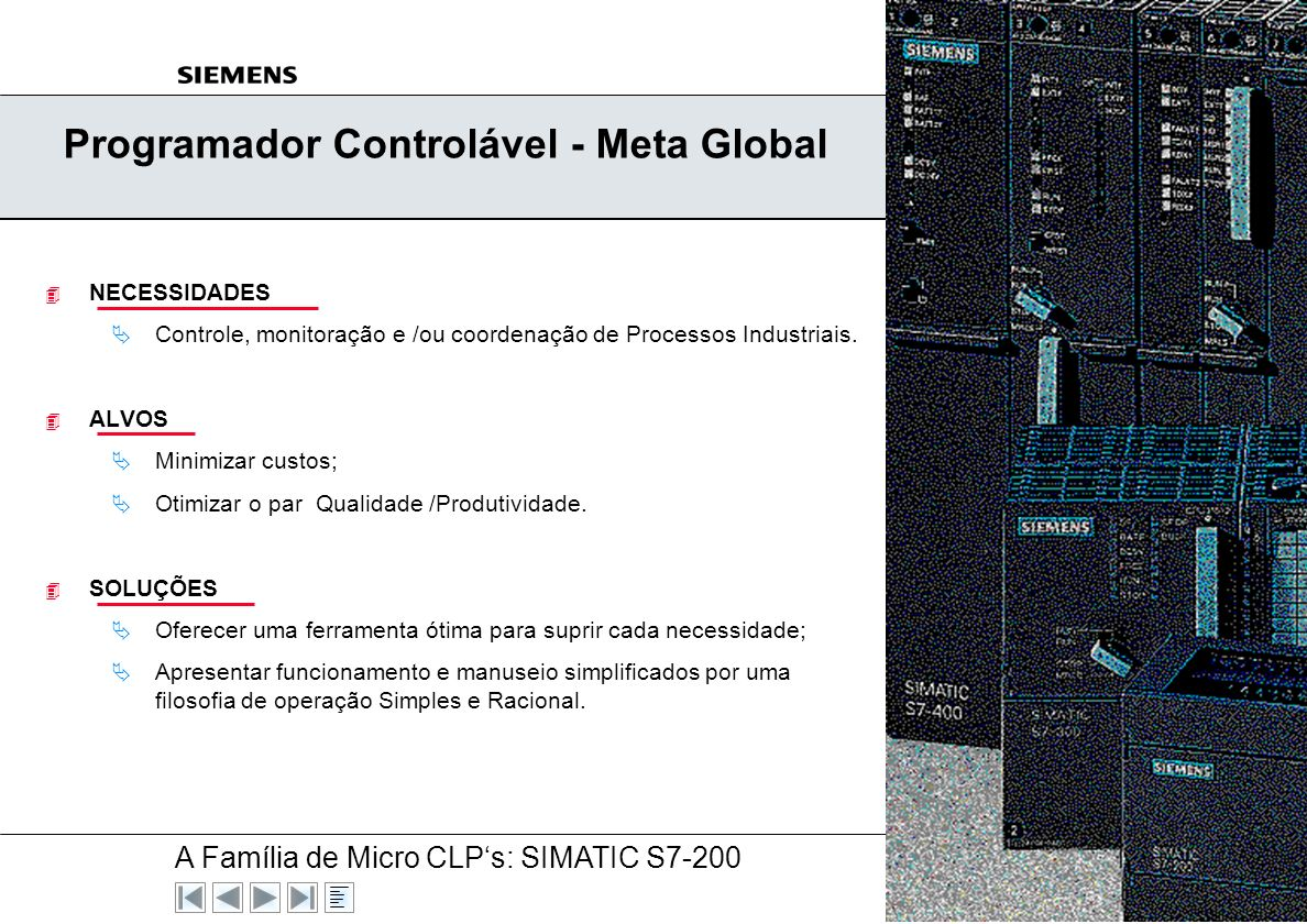 Programador Controlável - Meta Global