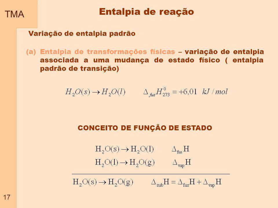 CONCEITO DE FUNÇÃO DE ESTADO
