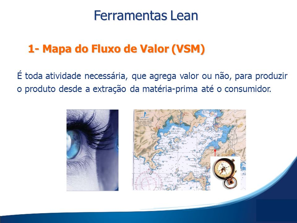Ferramentas Lean 1- Mapa do Fluxo de Valor (VSM)