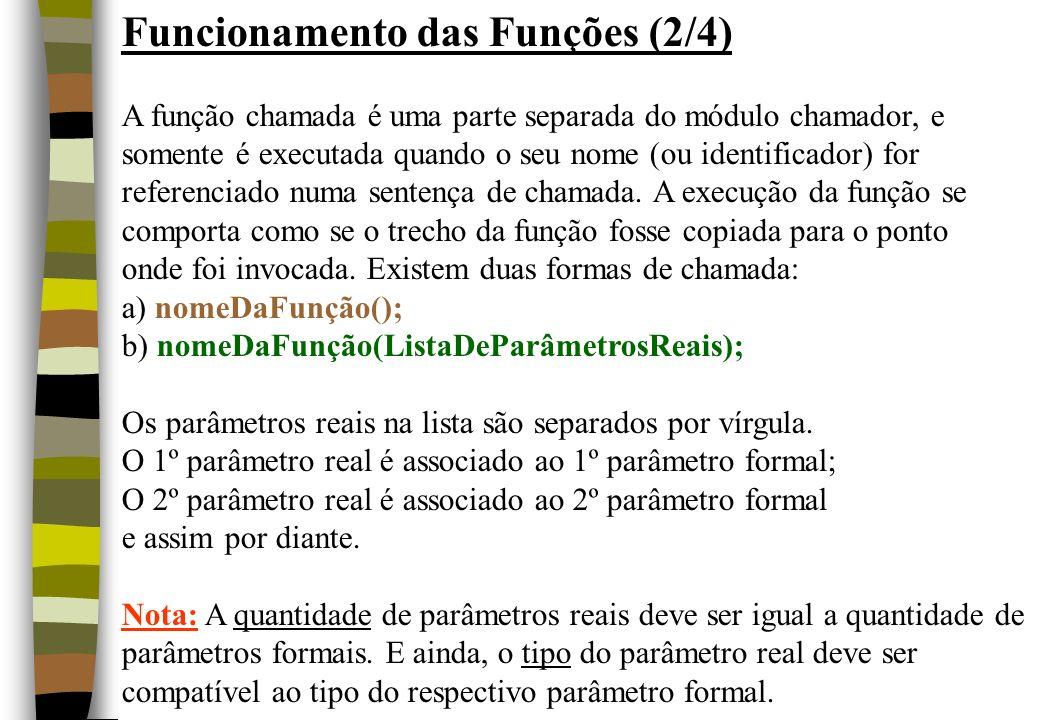 Funcionamento das Funções (2/4)