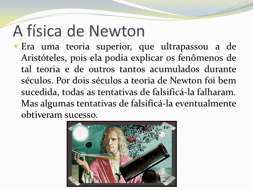 A física de Newton