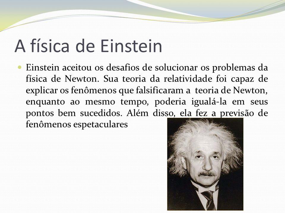 A física de Einstein