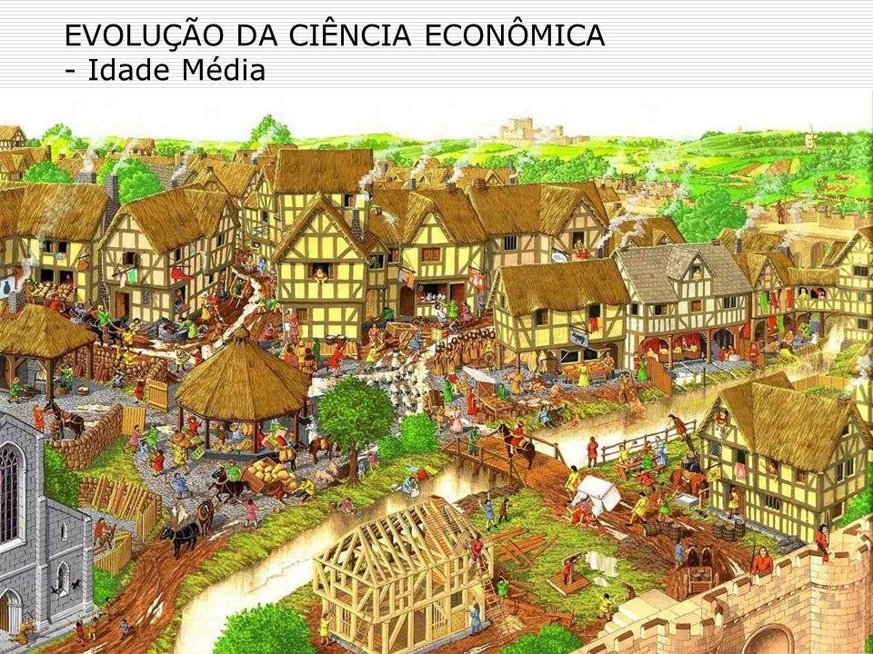 EVOLUÇÃO DA CIÊNCIA ECONÔMICA - Idade Média