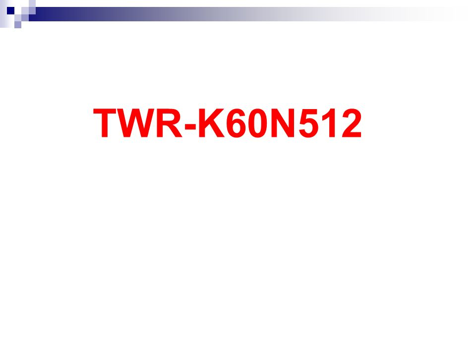 TWR-K60N512