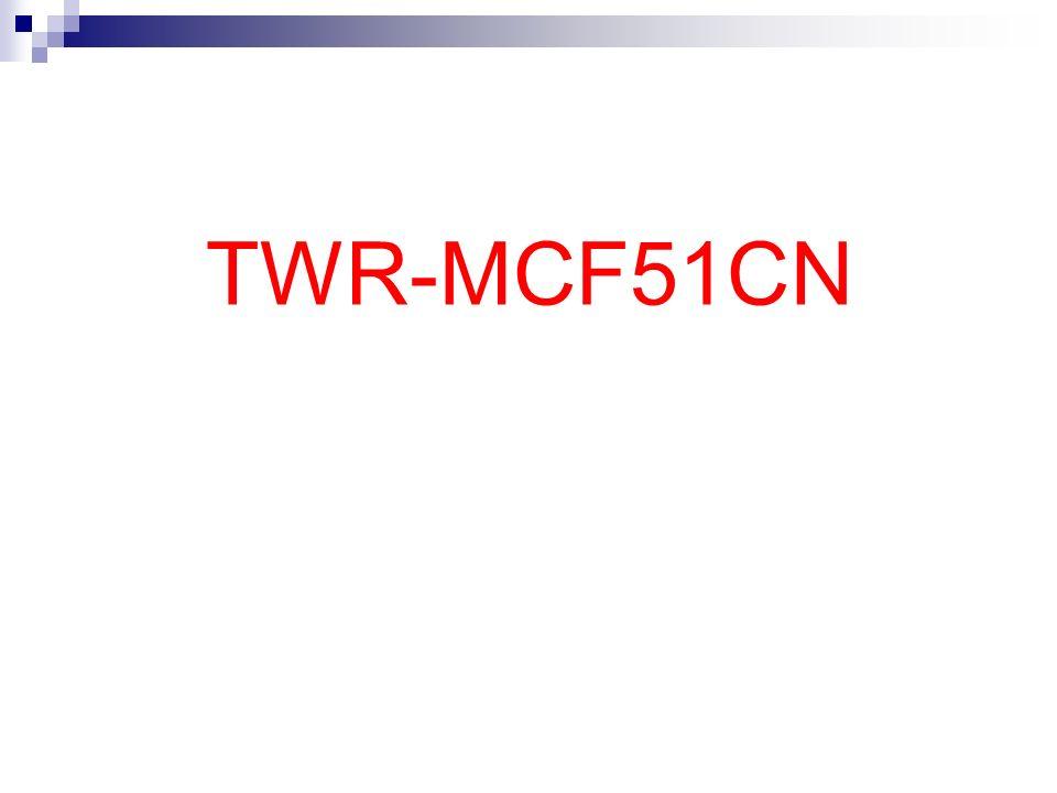 TWR-MCF51CN