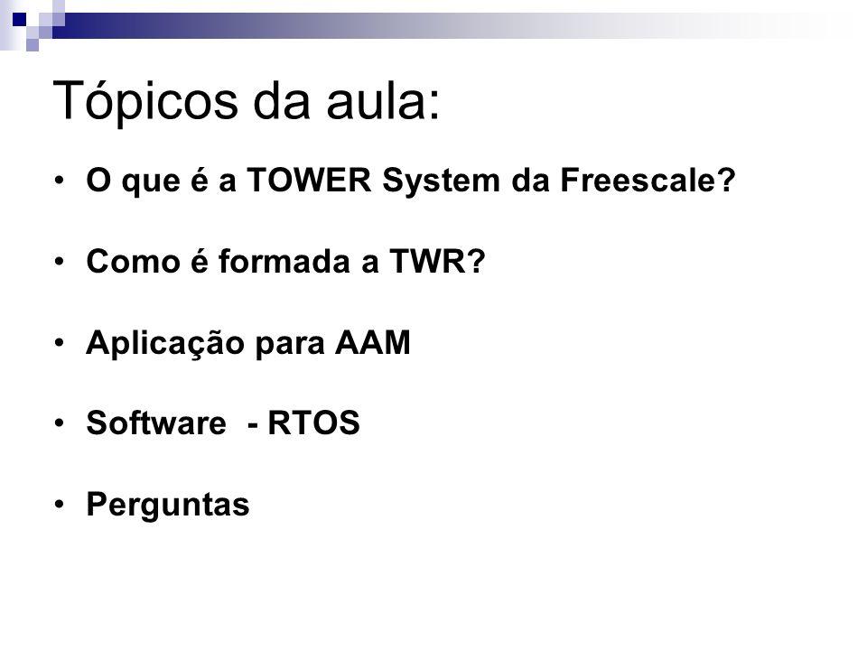 Tópicos da aula: O que é a TOWER System da Freescale