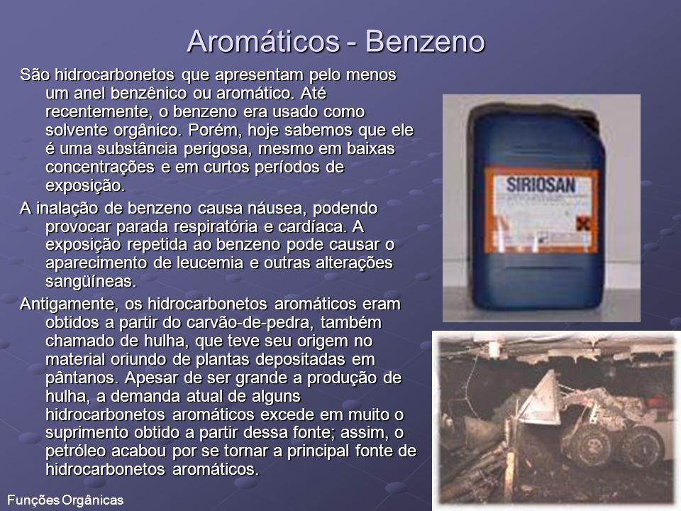Aromáticos - Benzeno