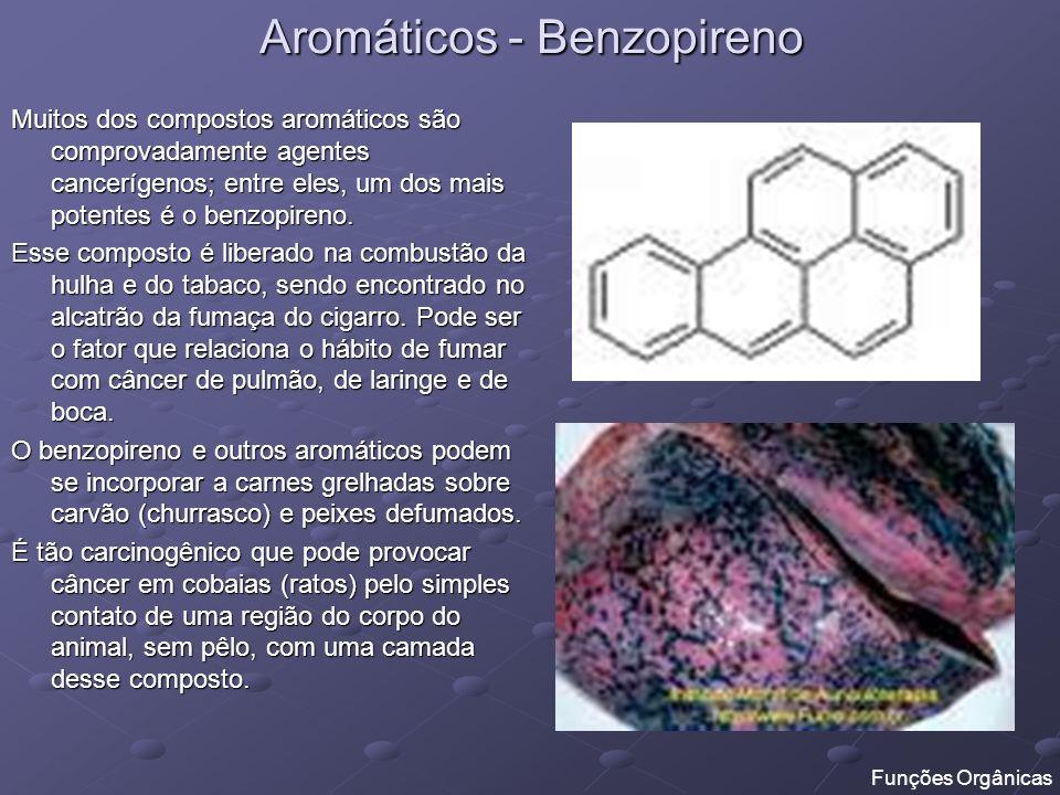 Aromáticos - Benzopireno