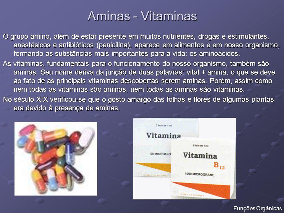 Aminas - Vitaminas