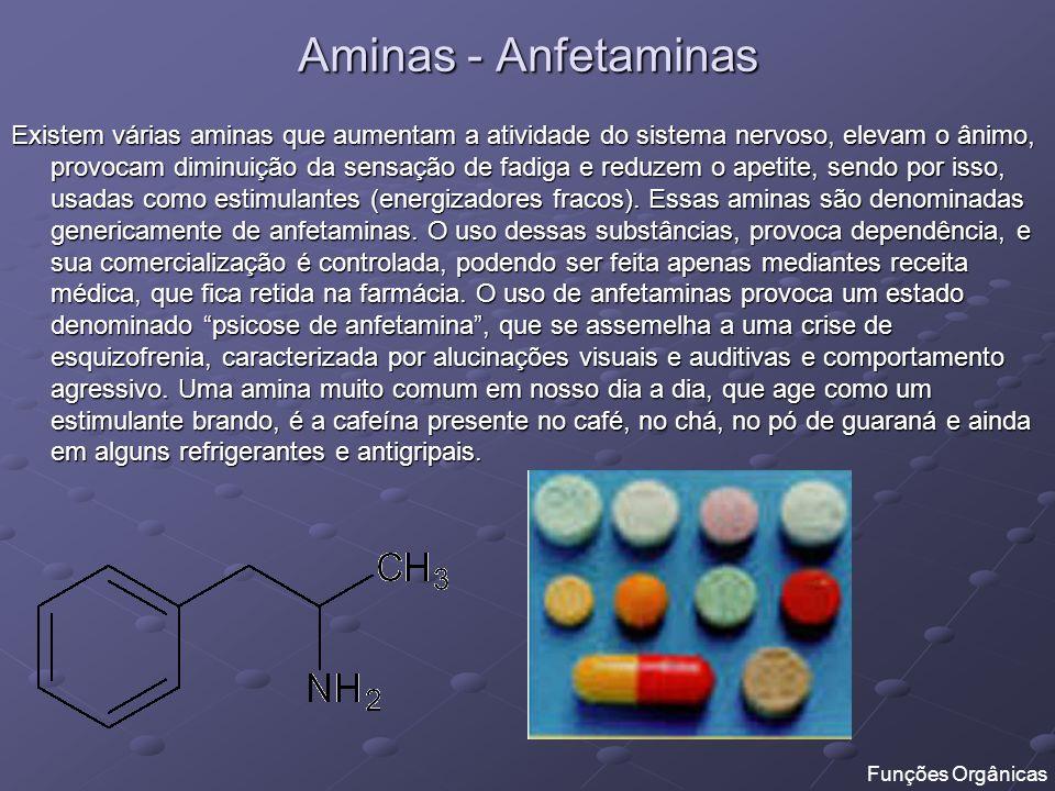Aminas - Anfetaminas