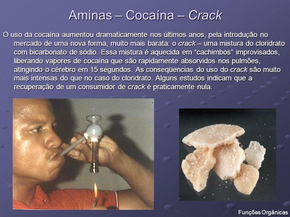 Aminas – Cocaína – Crack