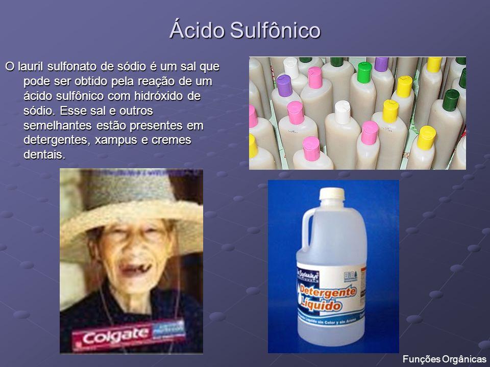 Ácido Sulfônico