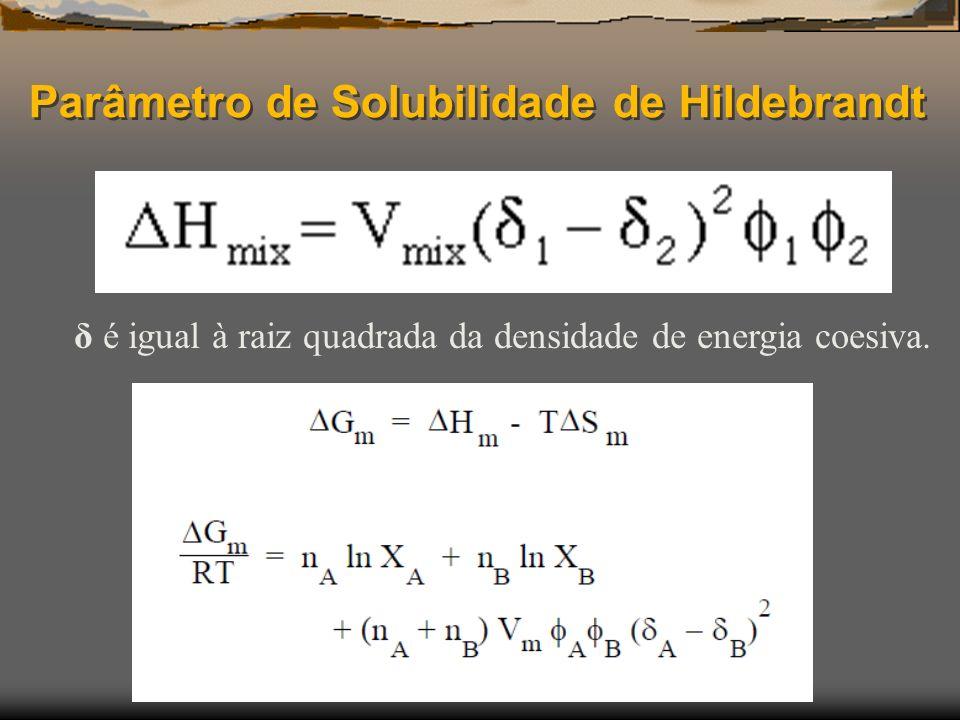 Parâmetro de Solubilidade de Hildebrandt