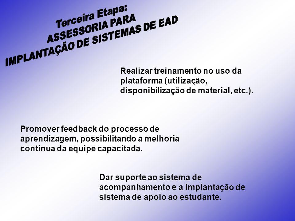 IMPLANTAÇÃO DE SISTEMAS DE EAD