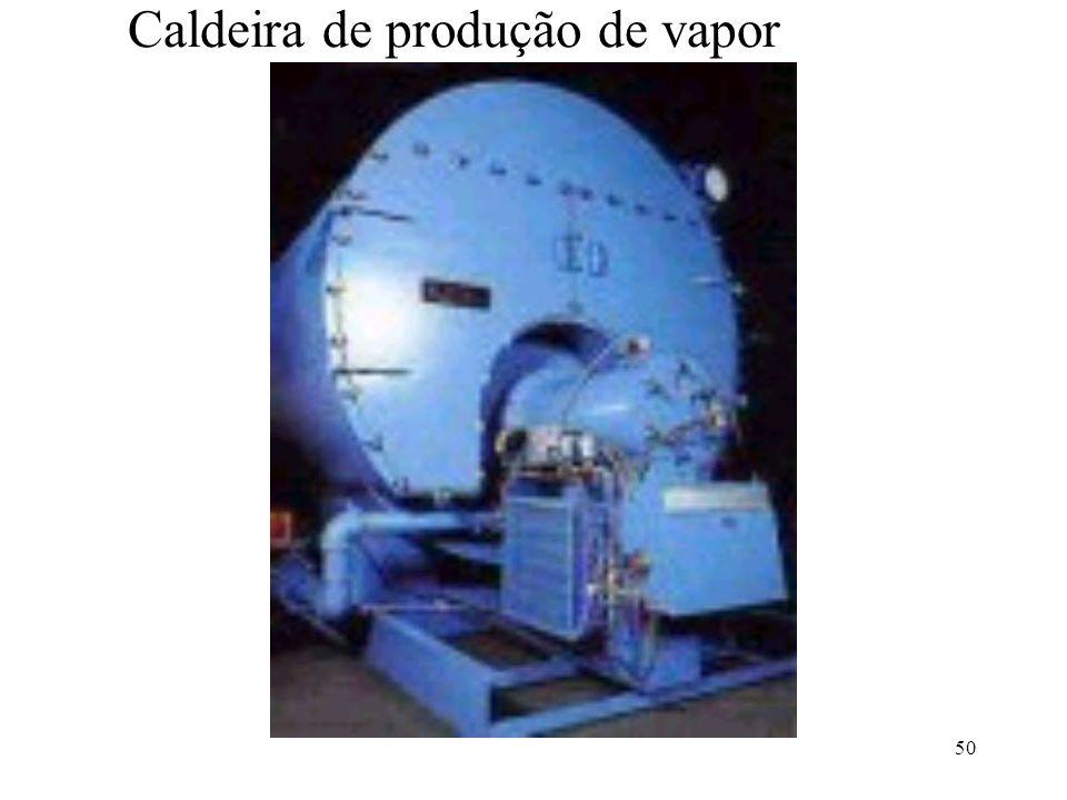 Caldeira de produção de vapor