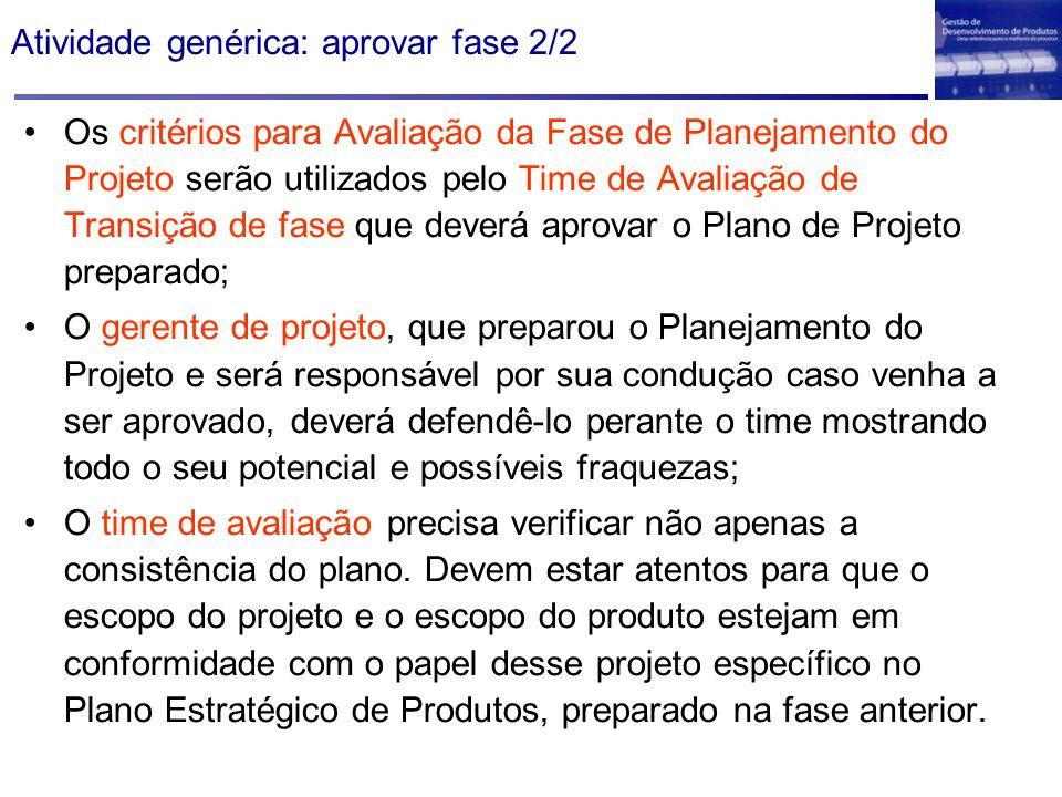 Atividade genérica: aprovar fase 2/2