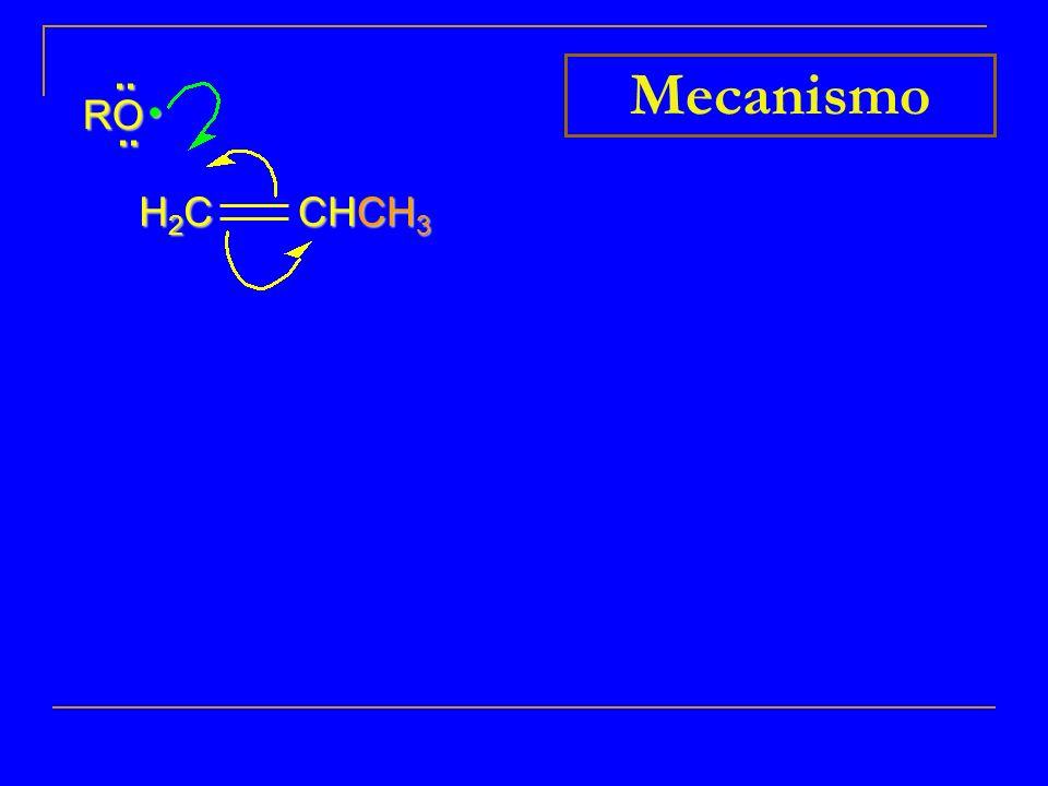.. RO Mecanismo • H2C CHCH3 7